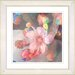 "<strong>Studio Works Modern</strong> ""Pastel Pearl Flower"" by Zhee Singer Framed Painting Print"