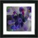 "<strong>Studio Works Modern</strong> ""Purple Blue Floral Study"" by Zhee Singer Framed Painting Print"