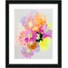 """Orange Majuli"" Framed Fine Art Giclee Print"