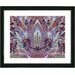 "<strong>Studio Works Modern</strong> ""Temple of Lilies"" by Zhee Singer Framed Painting Print"