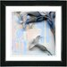 """<strong>""""Summer Blue Morning Bloom Flower"""" by Zhee Singer Framed Graphic Art</strong> by Studio Works Modern"""