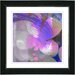"""Purple Morning Glory"" Framed Fine Art Giclee Print"