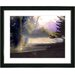 """Carmel Beach Sunset"" Framed Fine Art Giclee Print"
