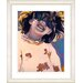 """Studio Works Modern """"Girl with Sunglasses"""" by Zhee Singer Framed Graphic Art"""