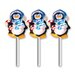 <strong>Brite Star</strong> LED Icy Penguin Pathmarkers Christmas Decoration (Set of 3)