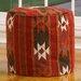 Home Loft Concept Cherokee Pouf Ottoman