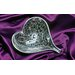 Tabletop Heart Aluminum Catch-All Bowl