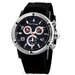 Men's Chronograph Watch with Interchangeable Straps