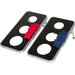 Trademark Innovations 10 Piece 3-Hole Cornhole Game Set