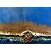 Rusted in the Ocean Canvas Wall Art