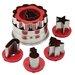 Cake Boss Holiday Linzer Cookie Cutter Set