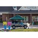 ShelterLogic 12' x 12' Pop-up Canopy with Straight Legs and Black Roller Bag