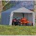 12' x 12' x 8' Peak Style Storage Shed