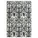 <strong>Carina Ebony / White Rug</strong> by Feizy Rugs