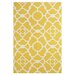 <strong>Cetara Yellow / White Rug</strong> by Feizy Rugs