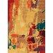 <strong>Mansoori Yellow Canvas Rug</strong> by Kalora
