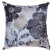 Oppy Flower Accent Pillow