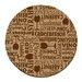 Thirstystone Wine Words Cork Coaster Set