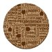 <strong>Wine Words Cork Coaster Set (Set of 6)</strong> by Thirstystone