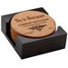7 Piece Cabernet Wine Label Cork Coaster Gift Set