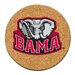 University of Alabama Cork Collegiate Coaster Set