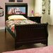 Edgewood Sleigh Bed with Back-Lit LED Headboard Imagery