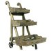 <strong>3 Tier Wood Cart</strong> by River Cottage Gardens