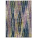 Pantone Universe Prismatic Purple/Blue Abstract Area Rug