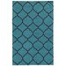 <strong>Matrix Blue Geometric Rug</strong> by Pantone Universe