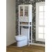 """Jeco Inc. 23.6"""" x 70.8"""" Over the Toilet Cabinet"""