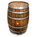 <strong>Napa East Collection</strong> Refinished Wine Barrel