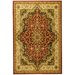 Sultan Dark Red Medallion Rug