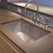 "30"" x 20"" Stainless Steel Mosaic Kitchen Sink"
