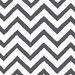 <strong>Thumbprintz</strong> Zig Zag Gray Chevron Rug