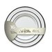 <strong>Fineline Settings, Inc</strong> Silver Splendor Plate (Pack of 256)