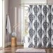 Intelligent Design Sydney Polyester Shower Curtain
