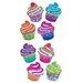 <strong>Bulk Roll Prismatic Mini Cupcake Sticker</strong> by Jillson & Roberts
