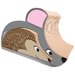 Mouse and Hedgehog Combo Cardboard Cat Scratching Board