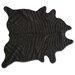 <strong>Natural Rugs</strong> Togo Black/Black Zebra Rug