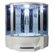 <strong>Sliding Door Steam Shower Enclosure Unit</strong> by Eagle Bath