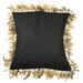 <strong>Alexander Les Plumes Feather Trim Pillow</strong> by Pur Modern