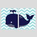 <strong>2 Piece Whale Paper Print Set</strong> by Evive Designs