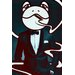 """Salty & Sweet """"Mr. Frog"""" Graphic Art on Canvas"""
