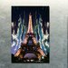 """<strong>""""Midnight In Paris"""" Canvas Art</strong> by Fluorescent Palace"""