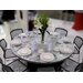 "<strong>Swirl® 60"" Round Folding Table</strong> by Southern Aluminum"