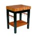 <strong>Rouge et Noir Pro Prep Table with Butcher Block Top</strong> by John Boos