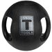 6 lbs Dual Grip Medicine Balls in Black