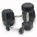 <strong>Rubber Coated Hex Dumbbells</strong> by Body Solid