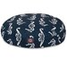 Majestic Pet Products Sea Horse Round Pet Bed
