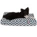 Majestic Pet Products Chevron Rectangle Pet Bed